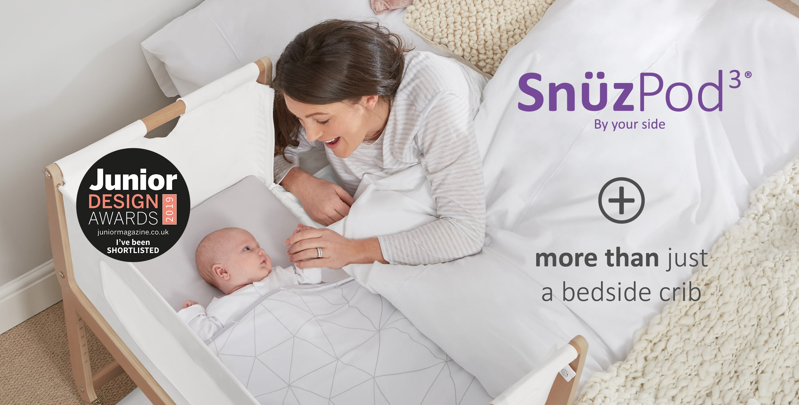 SnuzPod Bedside Crib Junior Design Awards
