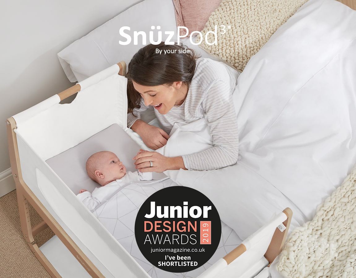 SnuzPod Bedside Crib Junior Design Award