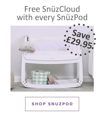 Free SnuzCloud with every SnuzPod, SHOP SNUZPOD