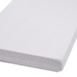 Cot & Cot Bed Fitted Sheet – Wave Rose - Dash