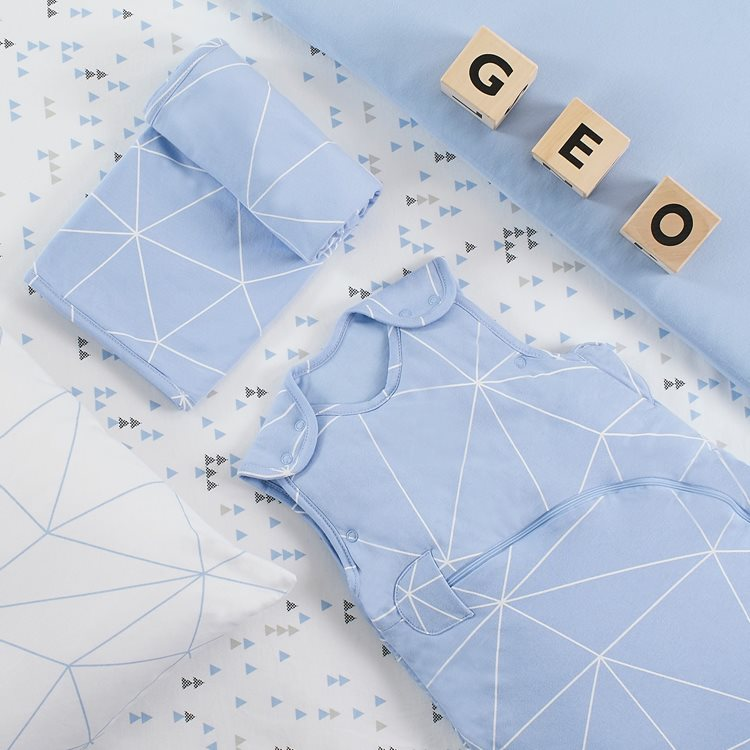 Duvet Cover & Pillowcase set – Geo Breeze