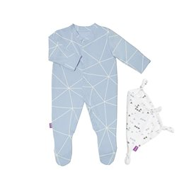 Sleepsuit & Baby Comforter Gift Set - Geo Breeze