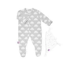 Sleepsuit & Baby Comforter Gift Set - Cloud Nine