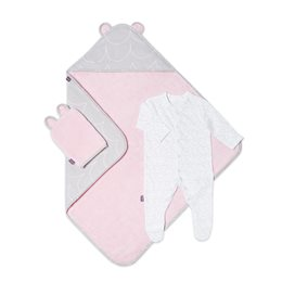 Baby Bath & Bed Set  - Wave Rose