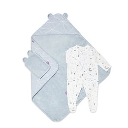 Baby Bath & Bed Set  - Geo Breeze
