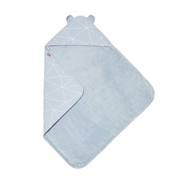 Baby Hooded Towel - Geo Breeze