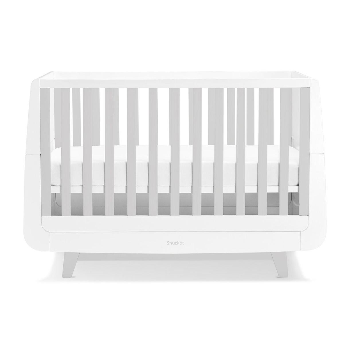 Snuzkot Luxe 2 Piece Nursery Furniture Set Grey Snuz