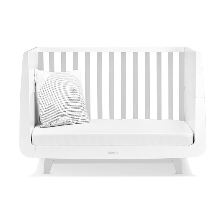 SnuzKot Luxe Cot Bed Grey