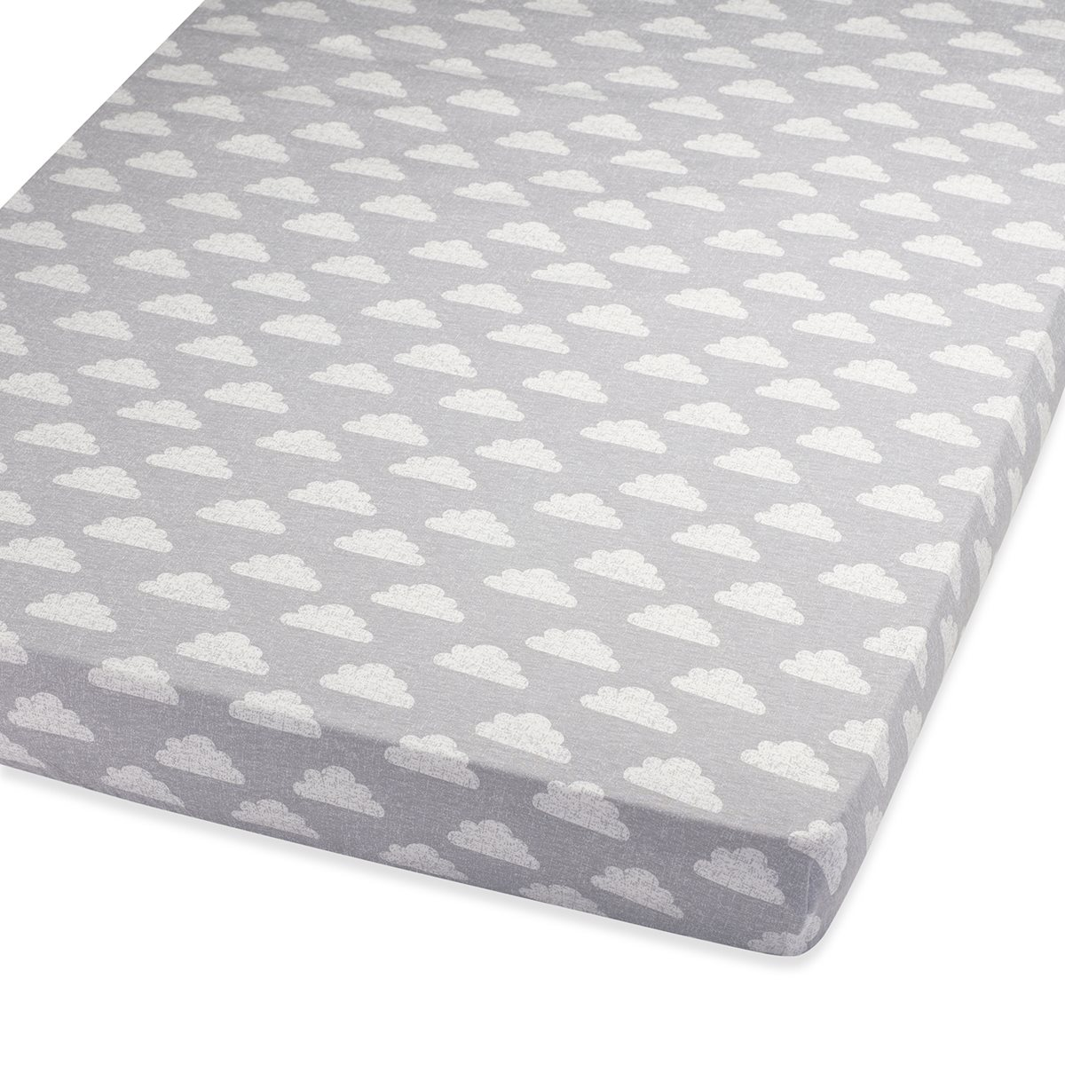 Good Cot U0026 Cot Bed Fitted Sheet In Cloud Nine | Snuz | Snüz