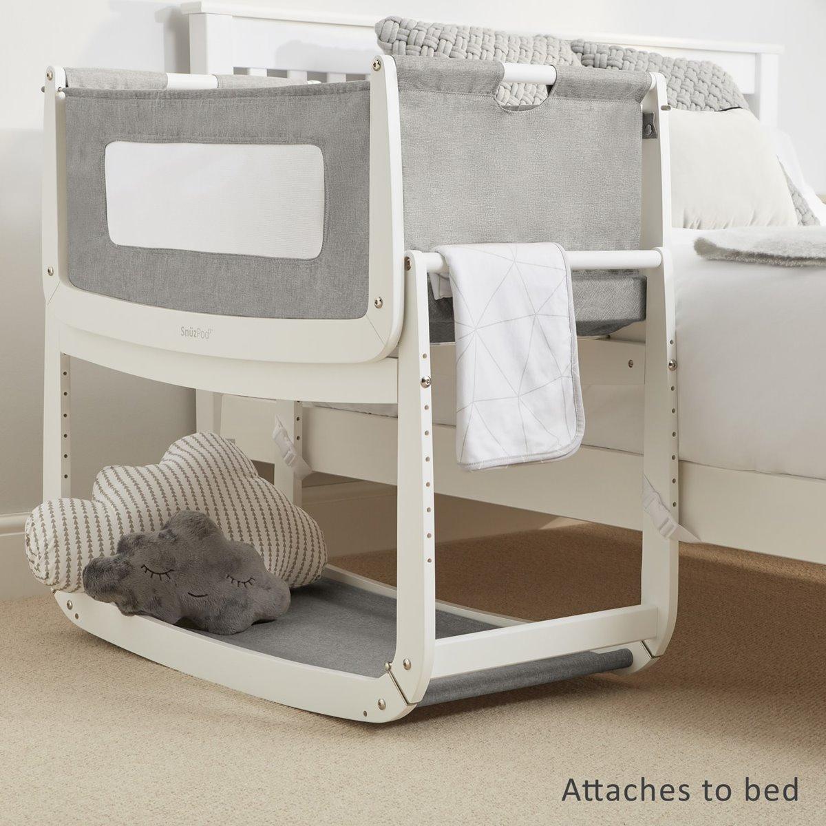 Herlig SnuzPod3 Bedside Crib | Snüz RQ-19