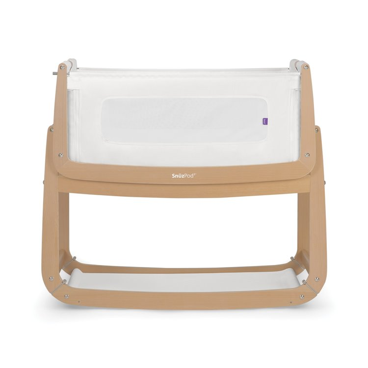 SnuzPod3 Bedside Crib Natural