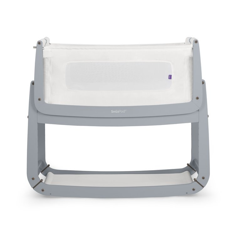 SnuzPod3 Bedside Crib Dove Grey