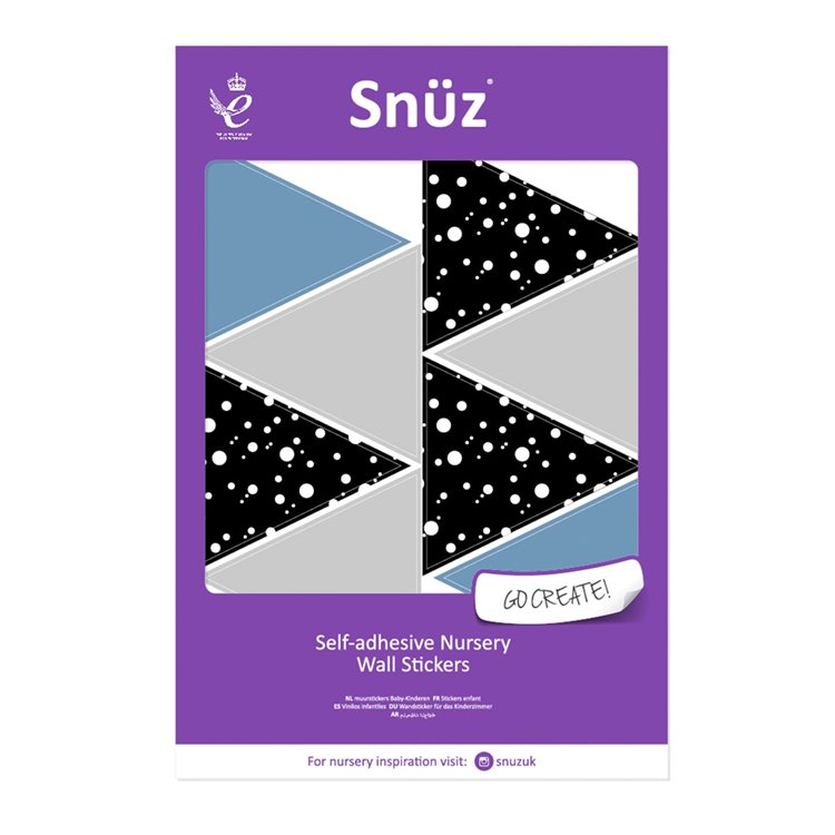 Nursery Wall Stickers Geometric Triangles - Geo Breeze