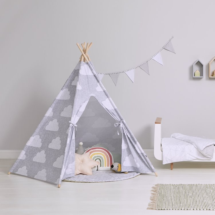 Kids Teepee Play Tent Cloud
