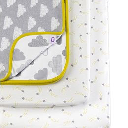 3pc Crib Bedding Set – Cloud Nine