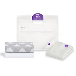 Essential Bundle Pack For SnuzPod - White