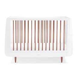 SnuzKot Skandi Cot Bed Metallics Rose Gold