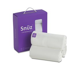 SnuzPod Crib Bedding Set White