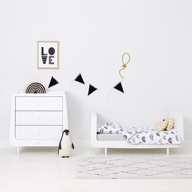 Duvet Cover & Pillowcase set – Mono Rainbow