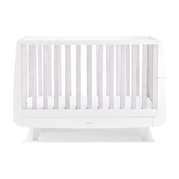 SnuzKot Luxe Cot Bed Whitewash