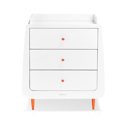 SnuzKot Skandi Changing Unit Orange