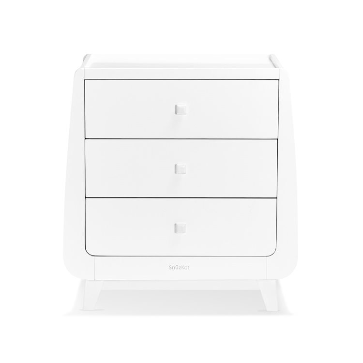 SnuzKot Luxe Changing Unit White