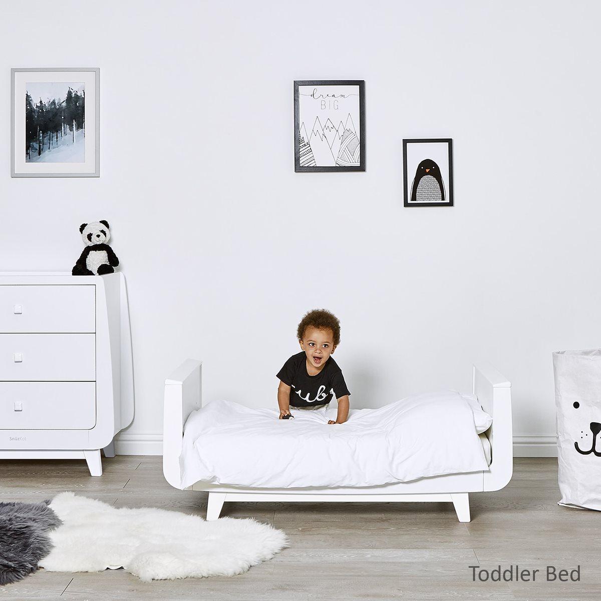 White Nursery Furniture Sets Part - 50: Snüz   SnuzKot Luxe 2 Piece Nursery Furniture Set White   Snüz